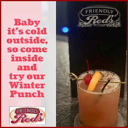 Friendly Red's Tavern Winter Punch