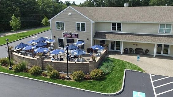 Friendly Red's Tavern - Aerial View