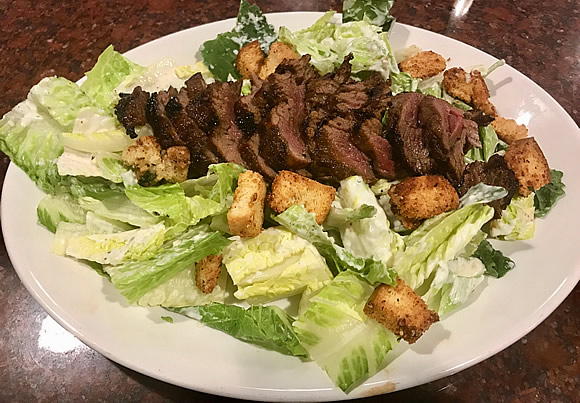 Habanera Steak Caesar Salad - Friendly Red's Tavern