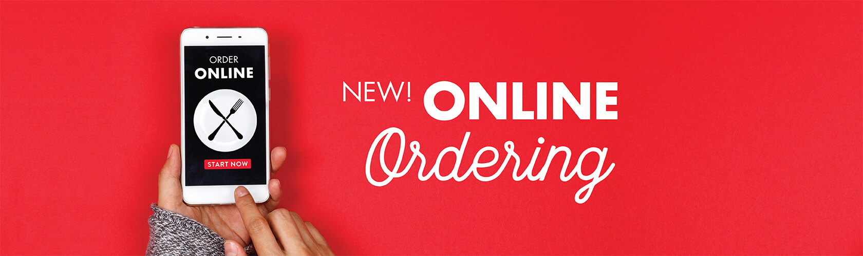 Online ordering now available!