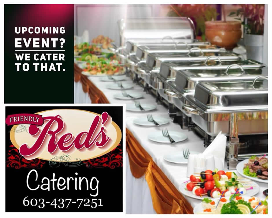 Now Offering Catering Services and Function Room